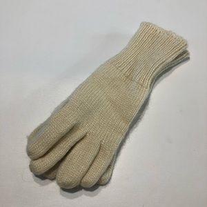 Aris Women's One Size Knit Gloves Cream